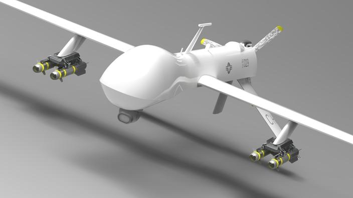 پروژه طرح هواپیمای بدون سرنشین MQ-1