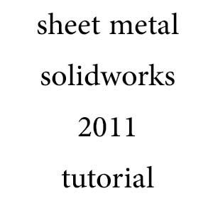 پکیچ کامل آموزش sheet metal سالیدورکز